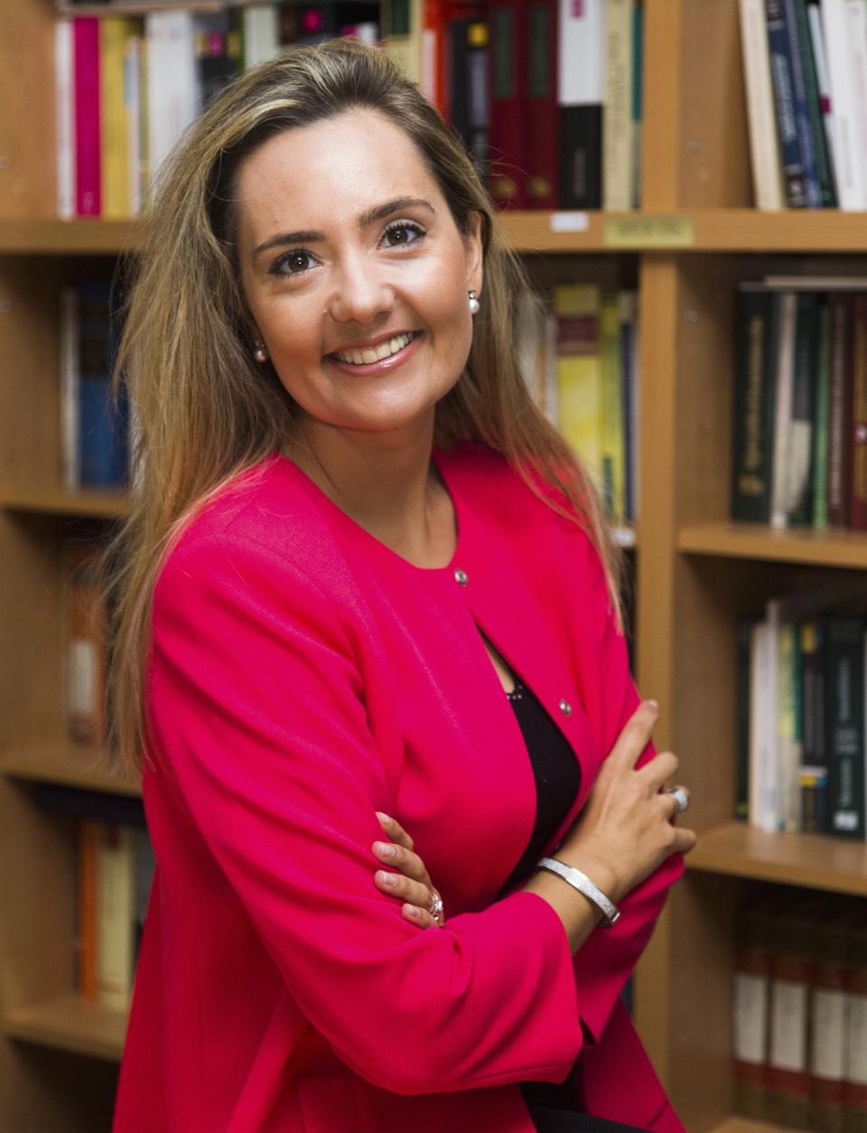 Hilda I. Arbonés, autora del libro 'Acoso moral en el trabajo y su tutela preventiva' Foto: Jesús Umbría