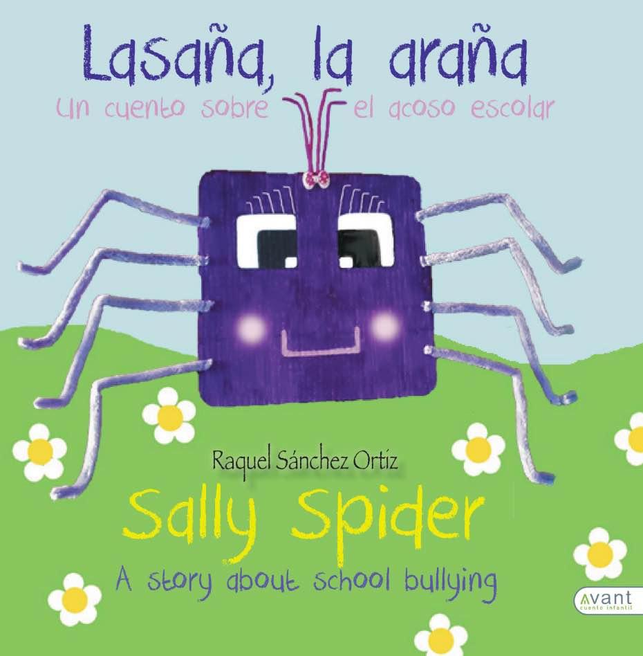 Portada del cuento infantil 'Lasaña, la araña'