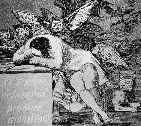 El-sueño-de-la-razón.-Goya copia