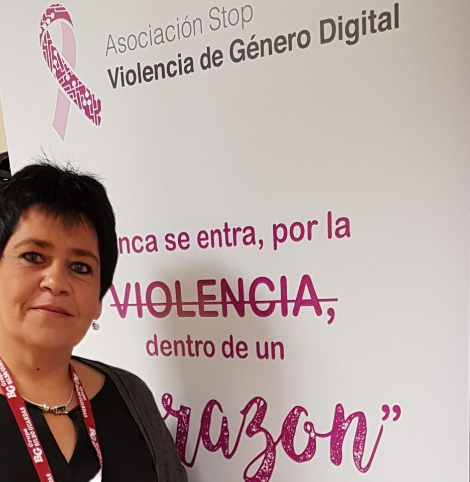 Encarni Iglesias es presidenta de la Asociación Stop Violencia de Género Digital