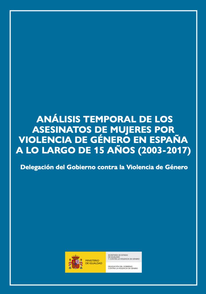 928 mujeres asesinadas por violencia de género entre 2003 y 2017