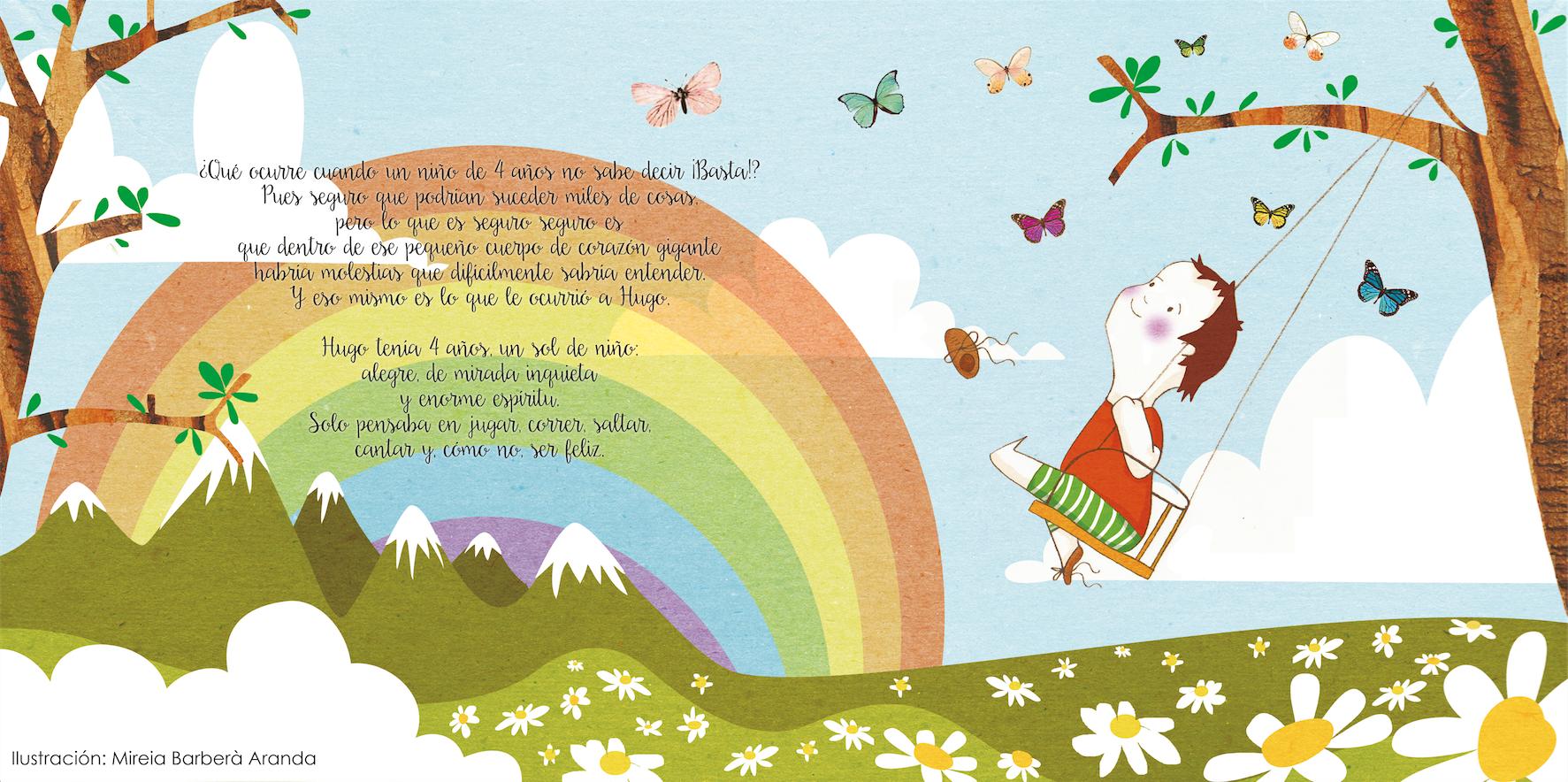 El cuento 'Hugo y la receta mágica' ha sido ilustrado por Mireia Barberà Aranda