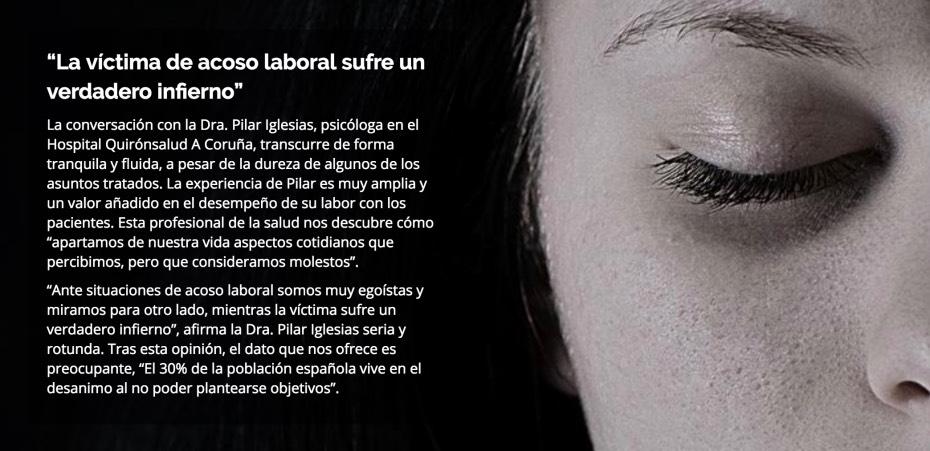 acoso laboral - salud - Quirónsalud