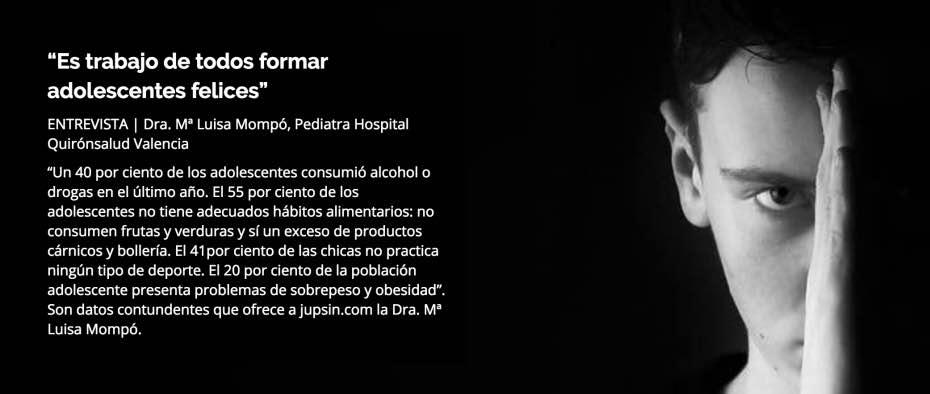 Pediatría, Quirónsalud, jupsin.com, Criar sin complejos