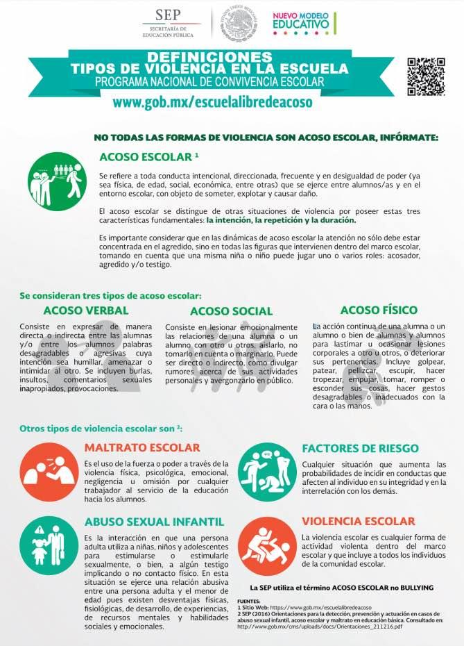 Programa de 'Convivencia Escolar' en México - jupsin com