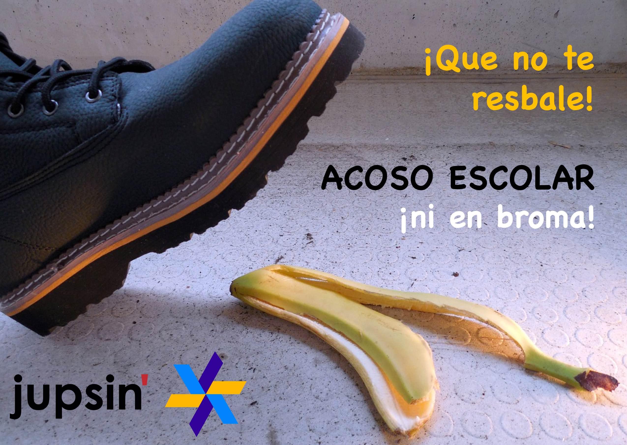 Acoso escolar, que no te resbale, jupsin.com, Colegio Castilla