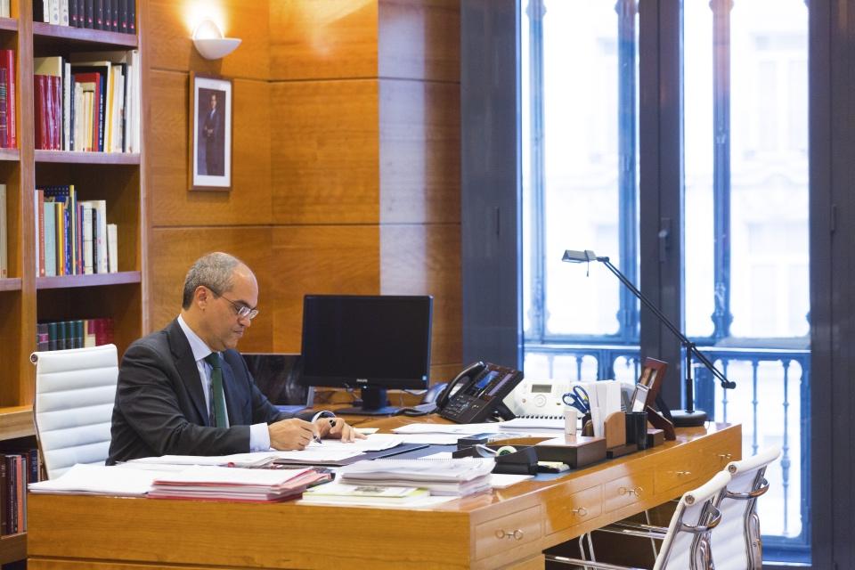 Rafael van Grieken, consejero de Educación de la Comunidad de Madrid - Foto: Jesús Umbría
