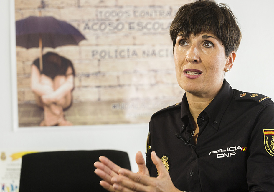 Esther Arén, Inspectora Jefe Delegada Provincial de Participación Ciudadana en la Comunidad de Madrid - Foto: Jesús Umbría