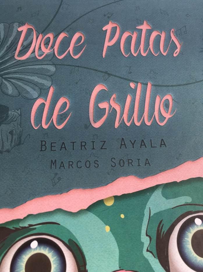 Beatriz Ayala, Doce Patas de Grillo, cuento, acoso escolar, jupsin.com, inteligencia emocional