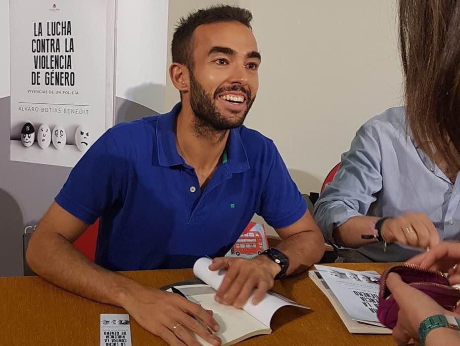 Álvaro Botias, policía, violencia de género, jupsin.com