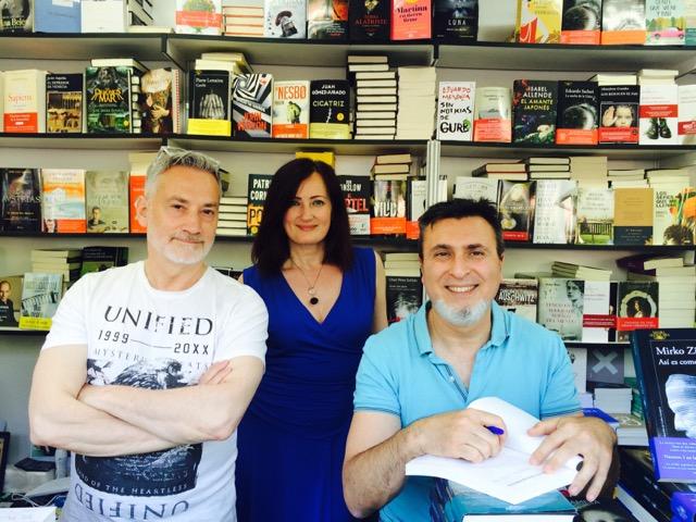 Luis Castellanos, Diana Yoldi y José Luis Hidallgo, autores de 'La ciencia del lenguaje positivo'