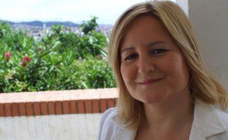 Mercè Roura, autora del libro Amo la imprudencia de mis palabras