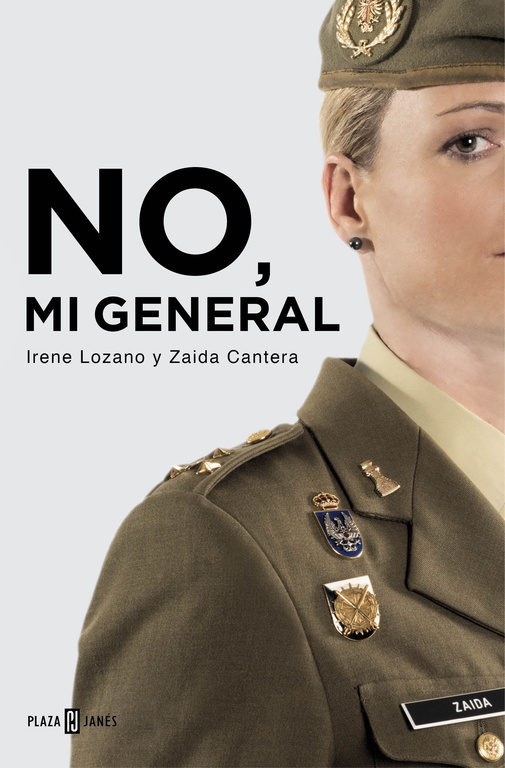 No mi general, libro de Irene Lozano y Zaida Cantera