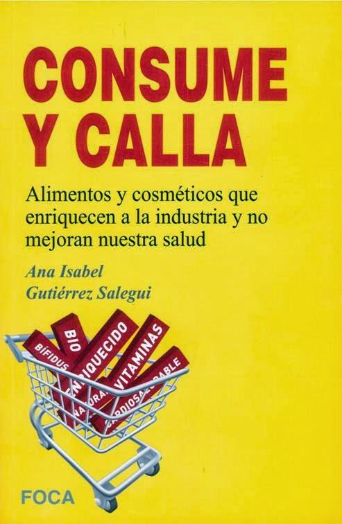 Portada de Consume y Calla, de Ana I. Rodríguez Salegui