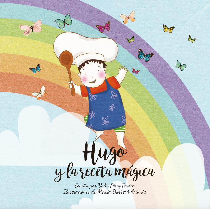 Portada de 'Hugo y la recta mágica', cuento infantil ilustrado sobre acoso escolar