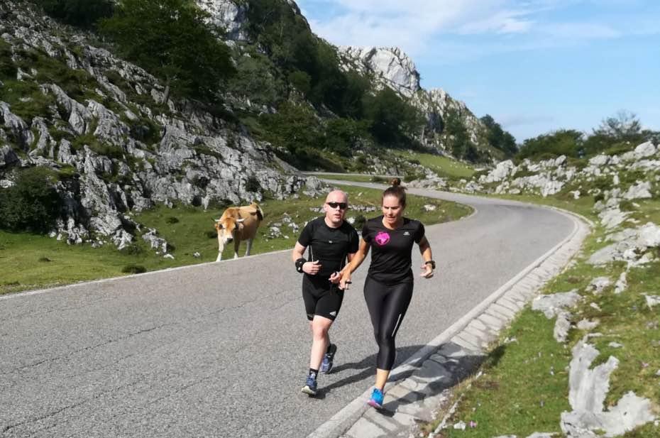 Puertos de los Lagos de Covadonga - Judith Obaya - Aventura Extrema - Mujeres Deportistas