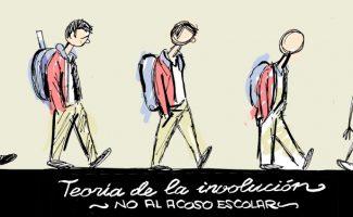 Viñeta - Idígoras y Pachi - monigote - acoso escolar