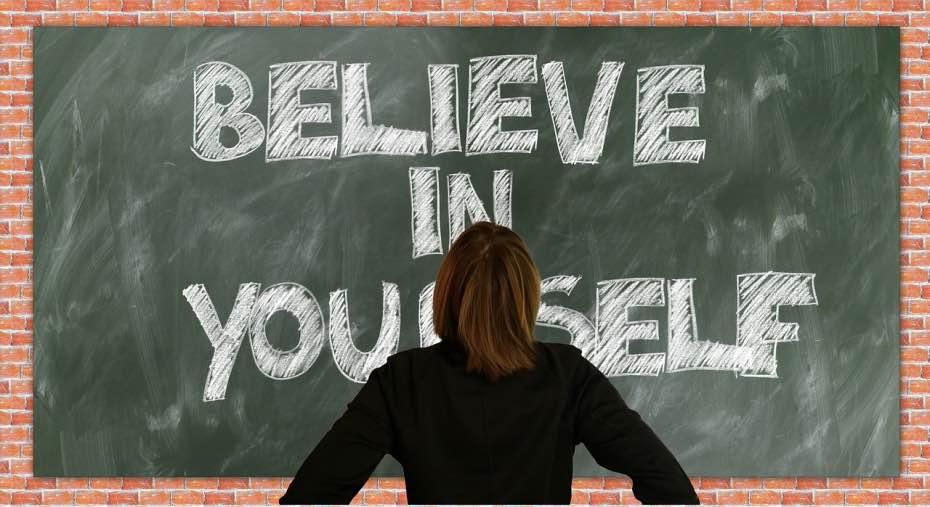 Cree en ti mismo y en los demas