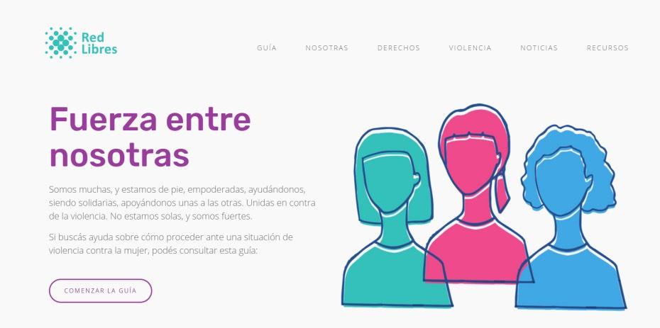 RED LIBRES, Argentina, jupsin.com, acoso, Violencia de Género