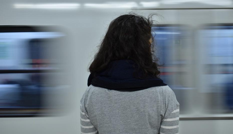 acoso sexual, metro