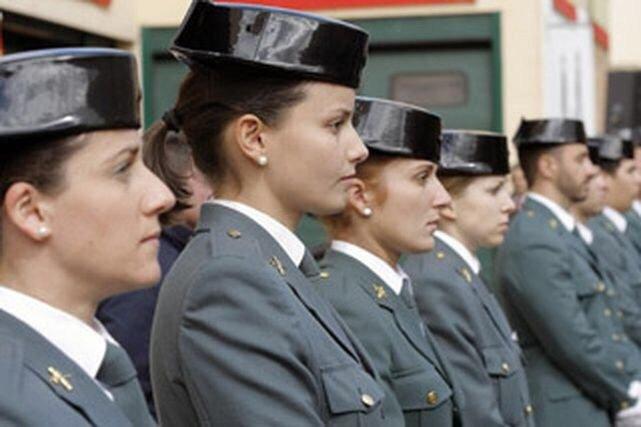 Cada vez hay más mujeres guardias civiles
